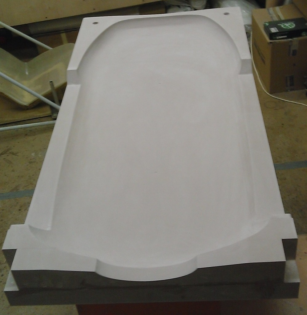 Milling of a fairing mold