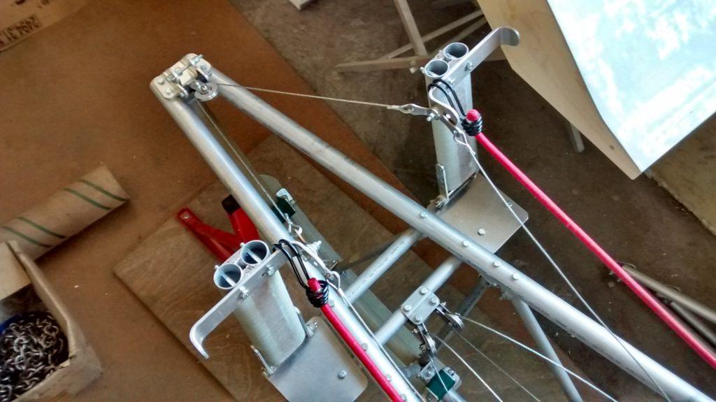 Rudder pedal link