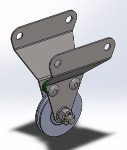 cad air block pulley custom 2